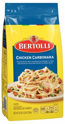 Bertolli Chicken Carbonara Frozen Skillet Meal Perspective: front