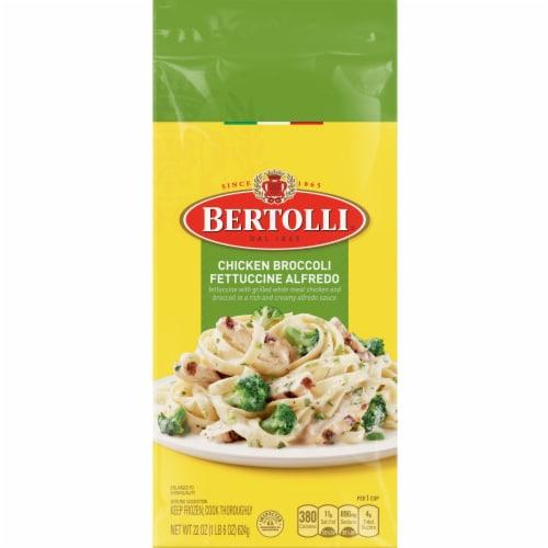 Bertolli Chicken Broccoli Fettuccine Alfredo Frozen Meal Perspective: front
