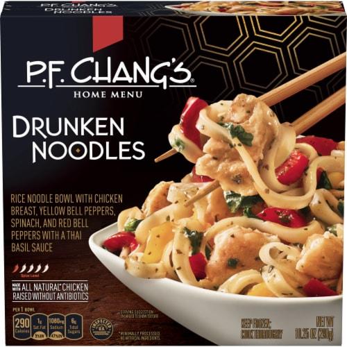 P.F. Chang's Home Menu Drunken Noodles Frozen Meal Perspective: front