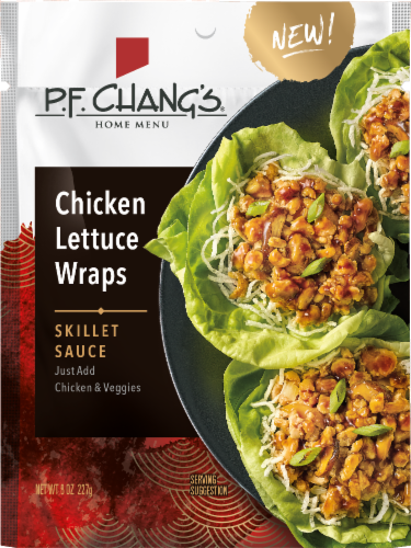 P.F. Chang's Chicken Lettuce Wraps Sauce Perspective: front
