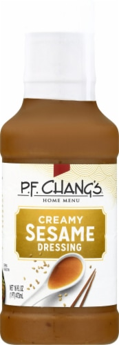 P.F. Chang's Home Menu Creamy Sesame Salad Dressing Perspective: front