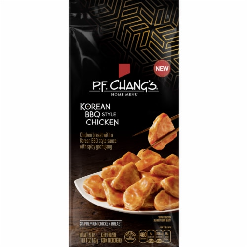 P.F. Chang's Home Menu Korean Style BBQ Chicken Frozen Meal Perspective: front