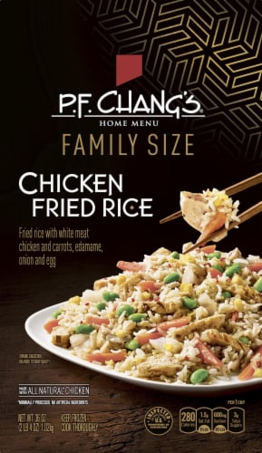P.F. Chang's Home Menu Family Size Chicken Fried Rice Skillet Meal Perspective: front