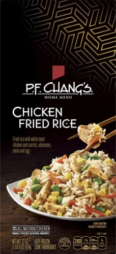P.F. Chang's Home Menu Chicken Fried Rice Skillet Meal Perspective: front