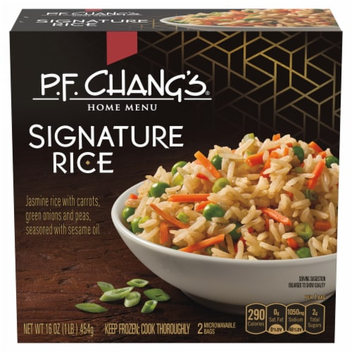 P.F Chang's Home Menu Chang's Signature Rice Perspective: front