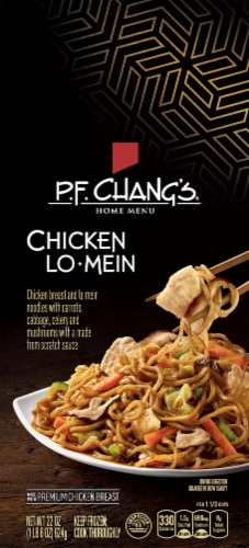 P.F. Chang's Home Menu Chicken Lo Mein Skillet Meal Perspective: front