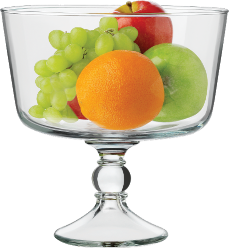 Libbey Selene Trifle Bowl - Clear Perspective: front