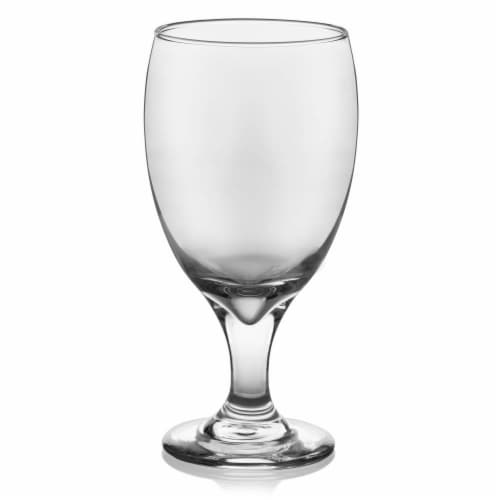 Libbey Classic Goblet Party Glasses Set Perspective: front