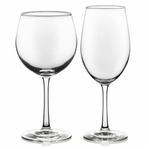 Libbey Vineyard Reserve Wine Glass Party Set Perspective: front