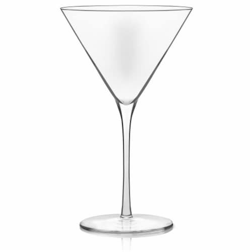 Libbey Signature Kentfield Martini Glasses Set Perspective: front