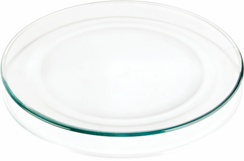 Libbey Round Serving Platter - Clear Perspective: front