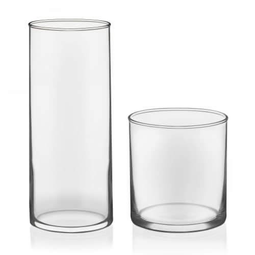 Libbey Miles Tumbler and Rocks Glass Set Perspective: front