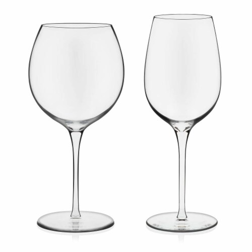 Libbey Signature Kentfield Wine Glass Party Set Perspective: front
