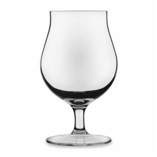 Libbey Signature Kentfield Belgian Beer Glasses Set Perspective: front