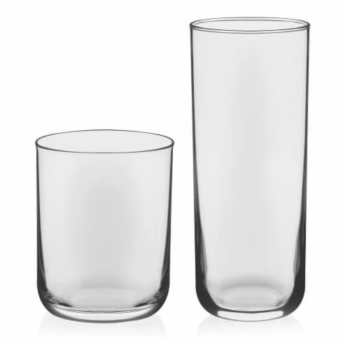 Libbey Lisbon Tumbler and Rocks Glass Set Perspective: front