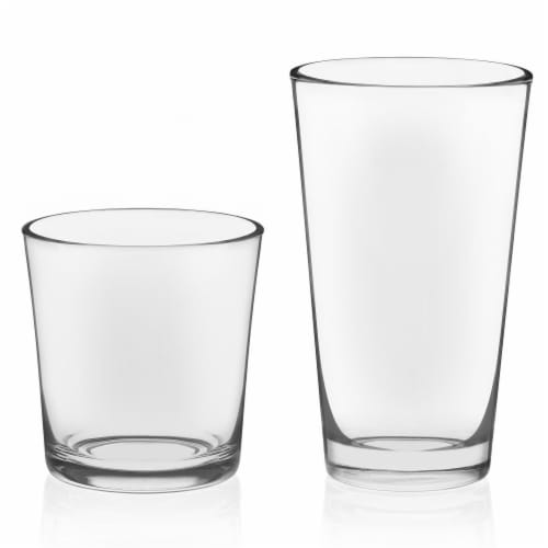 Libbey Preston Tumbler and Rocks Glass Set Perspective: front