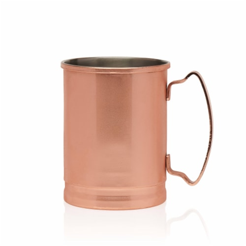 Libbey Moscow Mule Copper Mugs Set Perspective: front