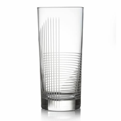 Libbey Cut Cocktails Passage Tumbler Glasses Set Perspective: front