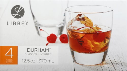 Libbey Durham Glasses Set - Clear Perspective: front