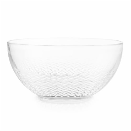 Libbey Merida Salad Bowl - Clear Perspective: front