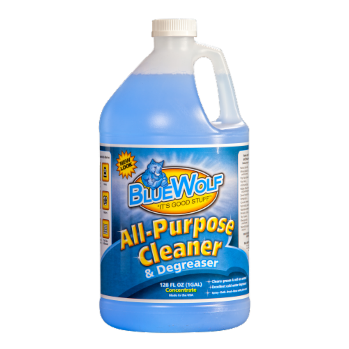 Blue Wolf All Purpose Cleaner and Degreaser Perspective: front