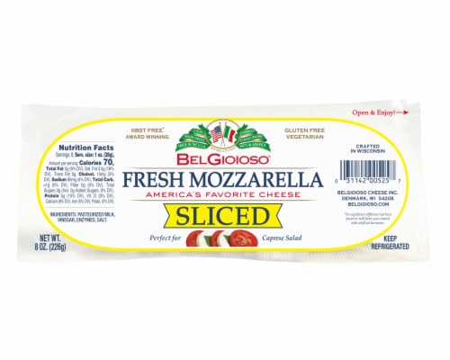 BelGioso Fresh Mozerella Cheese Perspective: front