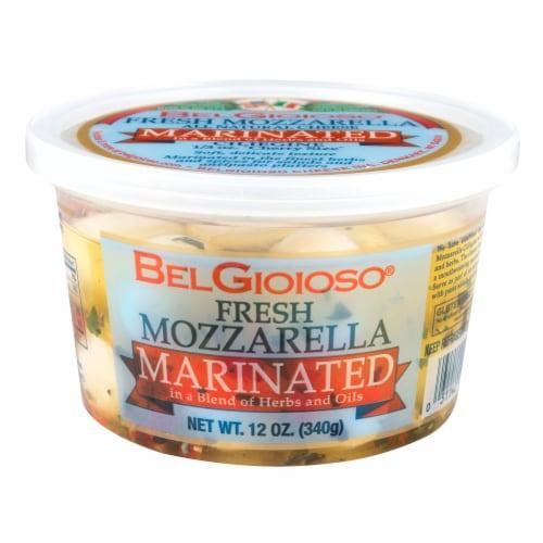 BelGioioso Marinated Fresh Mozzarella 23 Count Perspective: front