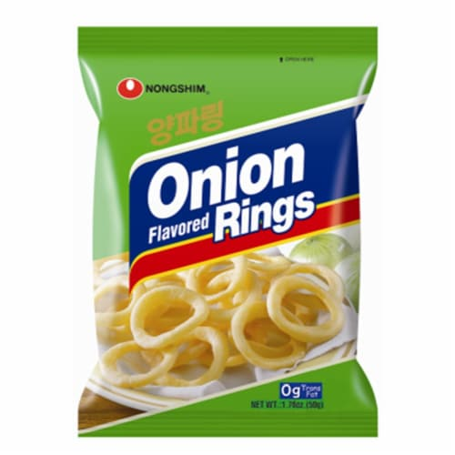 Nongshim Onion Rings Perspective: front
