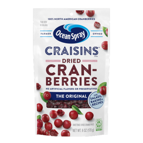 Ocean Spray Original Craisins Perspective: front