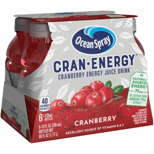 Ocean Spray Cran-Energy Cranberry Energy Juice Drink Perspective: front