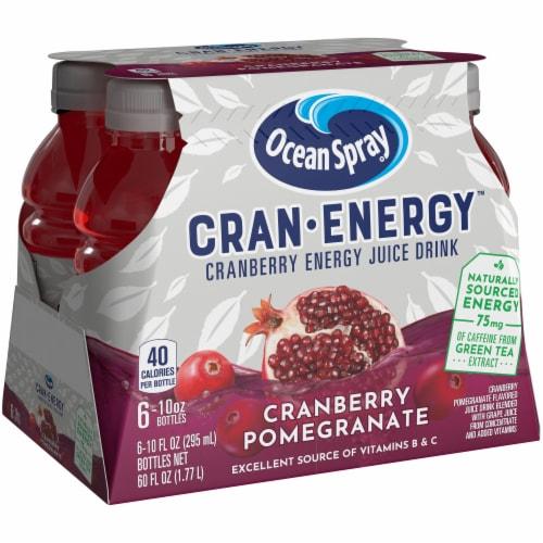 Ocean Spray Cran-Energy Pomegranate Cranberry Energy Juice Drink Perspective: front