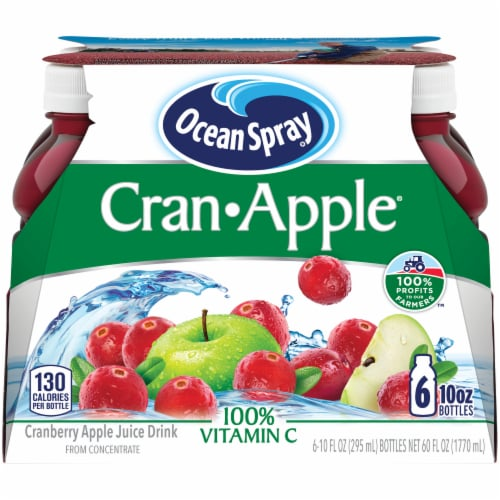 Ocean Spray Cran-Apple Juice Drink Perspective: front