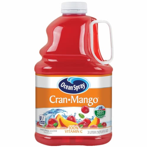 Ocean Spray Cran-Mango Juice Perspective: front