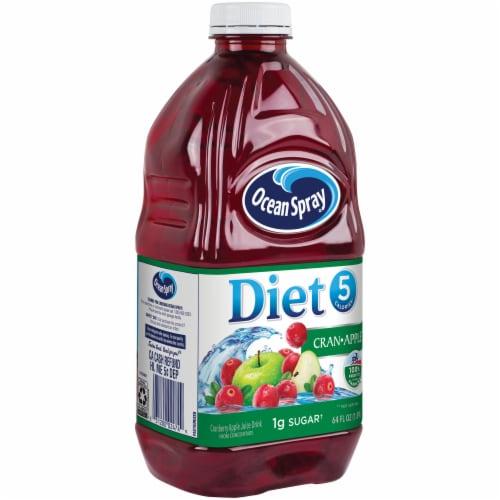 Ocean Spray Diet Cran-Apple Juice Drink Perspective: front