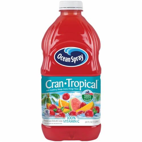 Ocean Spray Cran Tropical Juice Drink Perspective: front