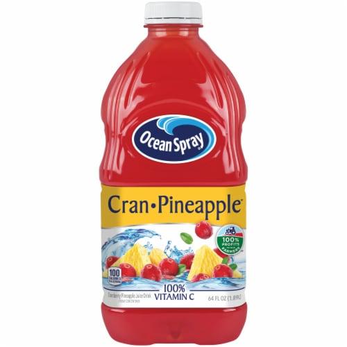 Ocean Spray Cran-Pineapple Juice Perspective: front