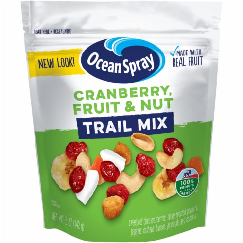 Ocean Spray Cranberry Fruit & Nut Trail Mix Perspective: front