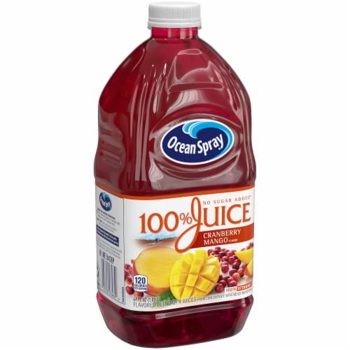 Ocean Spray Cranberry Mango Juice Perspective: front