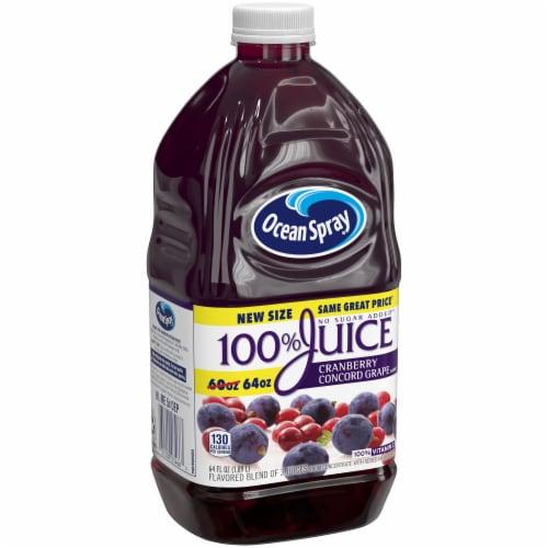 Ocean Spray Cranberry Concord Grape Juice Perspective: front