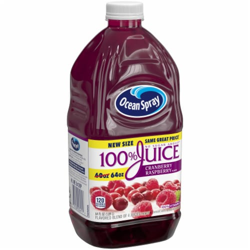 Ocean Spray® Cranberry Raspberry Juice Blend Perspective: front