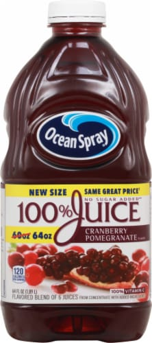Ocean Spray Cranberry Pomegranate Juice Perspective: front