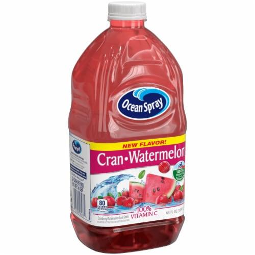 Ocean Spray Cran Watermelon Juice Drink Perspective: front