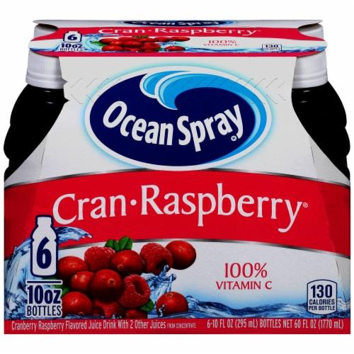 Ocean Spray Cran-Raspberry Juice Perspective: front