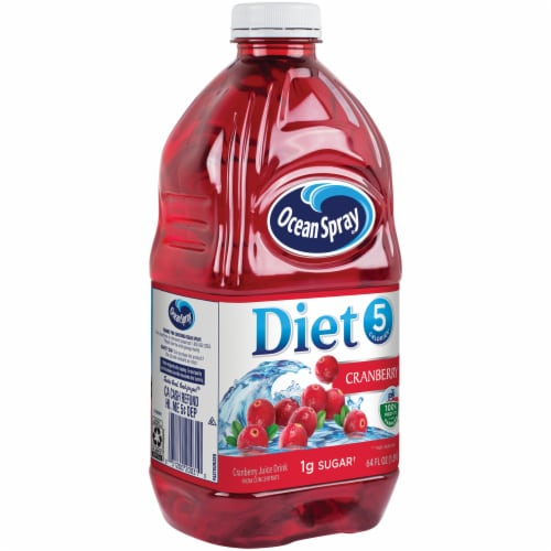 Ocean Spray Diet Cranberry Juice Perspective: front