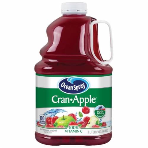 Ocean Spray Cran-Apple Juice Perspective: front