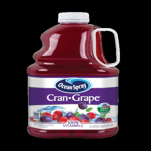 Ocean Spray Cran-Grape Juice Drink Perspective: front