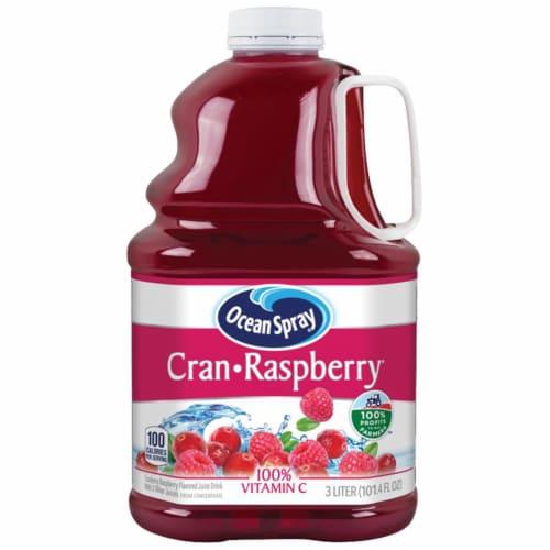 Ocean Spray Cran-Raspberry Juice Drink Perspective: front