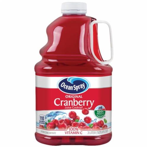 Ocean Spray Original Cranberry Juice Cocktail Perspective: front