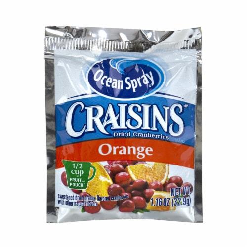 Craisins Orange Flavor Dried Cranberries, 1.16 Ounce -- 200 per case. Perspective: front