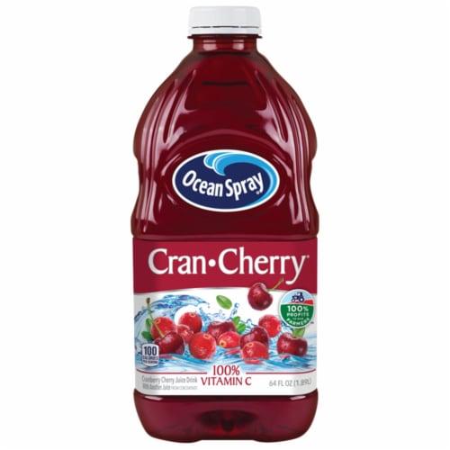 Ocean Spray Cran-Cherry Juice Drink Perspective: front